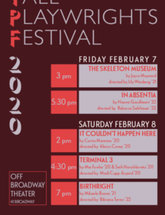 Yale Playwrights Festival 2020