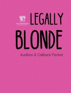 filler poster for legally blonde