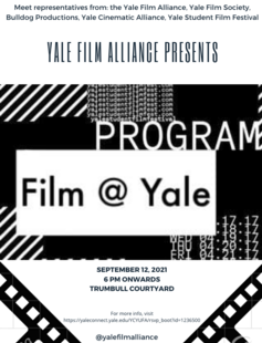Film @ Yale Info Session