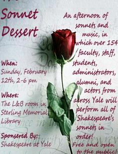 Poster of The Sonnet Dessert