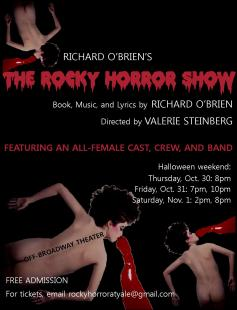 Poster of Rocky Horror Show