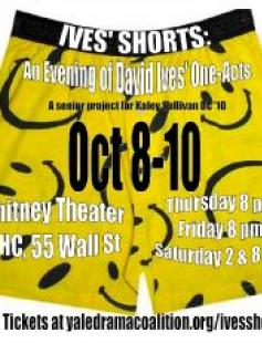 Poster of Ives' Shorts: an Evening of David Ives' One-Acts