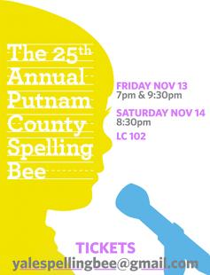 Poster of 25th Annual Putnam County Spelling Bee
