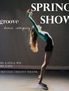 Poster of Groove Dance Company Spring 2014 Show