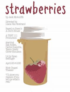 Poster of Strawberries