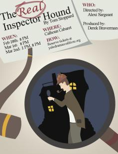 Poster of The Real Inspector Hound