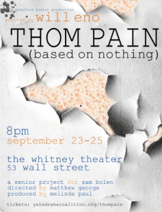 Poster of Thom Pain (based on nothing)