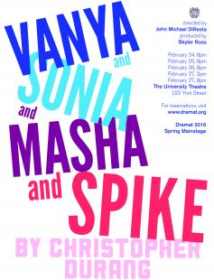 Poster of Vanya and Sonia and Masha and Spike