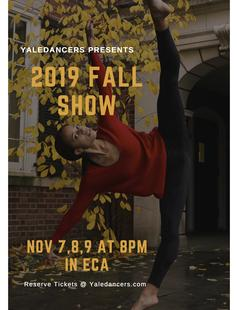 YaleDancers 2019 Fall Show Nov. 7-9 at 8pm ECA Theater