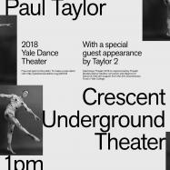 Poster of Yale Dance Theater 2018